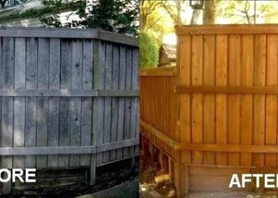 Fence Cleaning & Staining