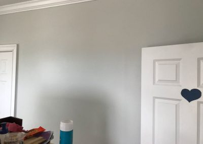 Painting inside house