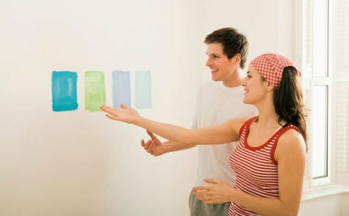 Learn how not to make mistakes in painting the house