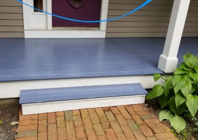 Exterior painting of house and floor in Lexington 2