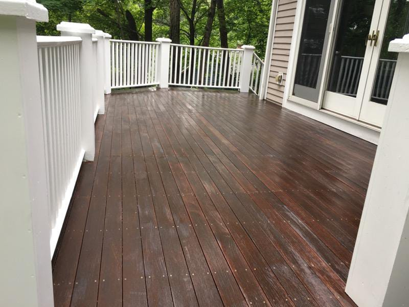Exterior painting of house Decks And Fences Somerville